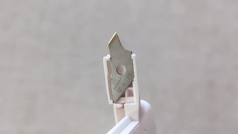 ダイソーのコンパスカッターにオルファの替刃をつけた