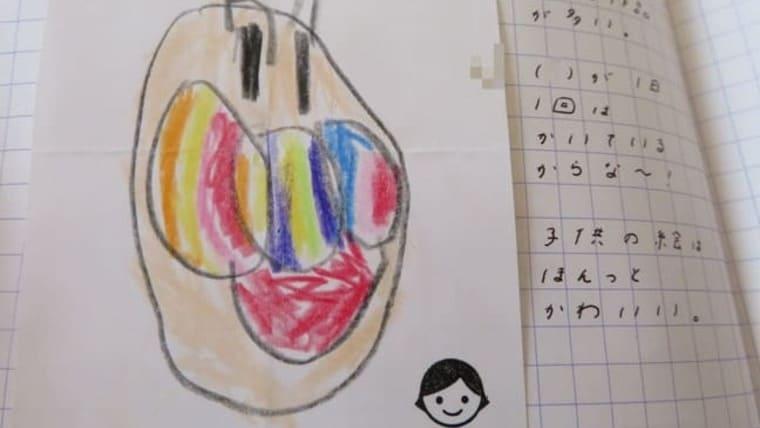 子どもの描いたイラスト