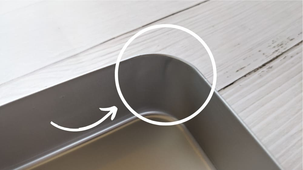 アルミ弁当箱の変色:内側